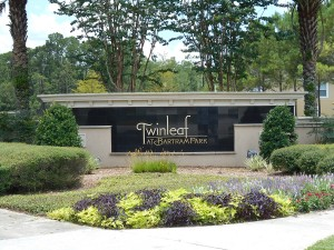 twinleaf at bartram park townhome community