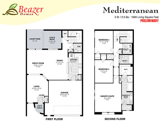 Sumerlin Floor Plans