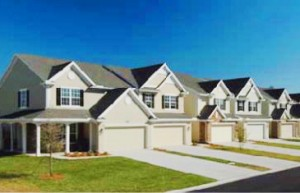 Hawthorn at Bartram Park townhome community