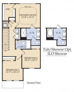 Pulte Homes Bainebridge Floor Plan 2nd Floor
