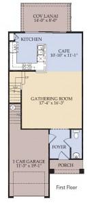 Pulte Homes Bainebridge Floor Plan First Floor