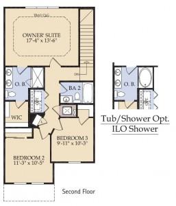 Pulte Homes Rosecliff Floor Plan 2nd Floor