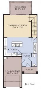 Pulte Homes Rosecliff Floor Plan First Floor