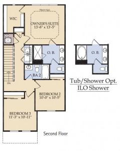 Pulte Homes Woodbury Floor Plan 2nd Floor