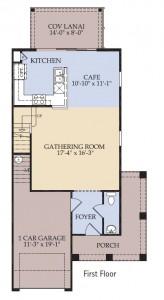 Pulte Homes Woodbury Floor Plan First Floor